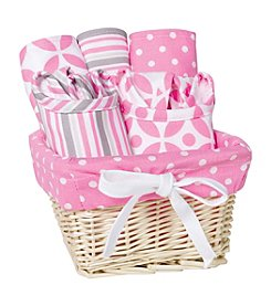 Trend Lab Lily 7-pc. Feeding Basket Gift Set