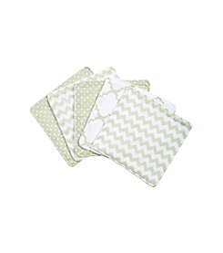 Trend Lab Sea Foam 5-pk. Wash Cloth Set