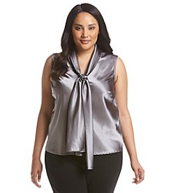 Nine West® Plus Size Tie Neck Cami