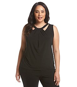 Nine West® Plus Size Criss Cross Cami
