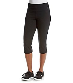 Exertek® Petites' Mesh Cropped Pants