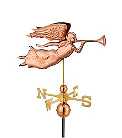 Good Directions® Polished Copper Angel Weathervane