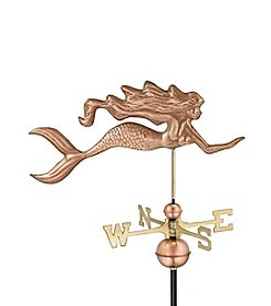 Good Directions® Polished Copper Mermaid Weathervane