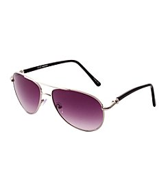 Steve Madden Metal Aviator Sunglasses