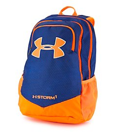 Under Armour® Scrimmage Blue And Orange Backpack