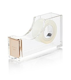 kate spade new york® Gold Acrylic Tape Dispenser