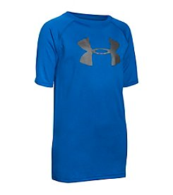 Under Armour® Boys' 6-20 Short Sleeve UA Tech™ Big Logo Tee