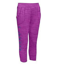 Under Armour® Girls' 7-16 Relaxed UA Tech™ Capris