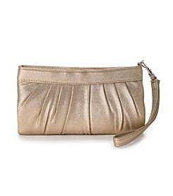 La Regale® Shimmer Zip Top Wristlet