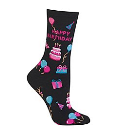 Hot Sox® Happy Birthday Crew Socks