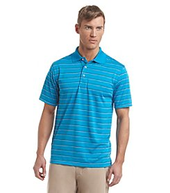 PGA TOUR® Men's Short Sleeve Three Color Airflux Stripe Polo