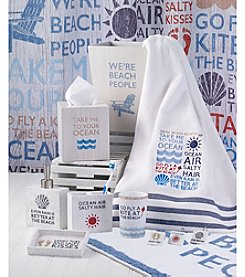 Avanti® Beach Words Bath Collection