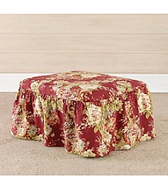 Sure Fit® Waverly Ballad Bouquet 2-pc. Ottoman Slipcover