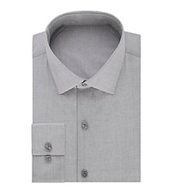 REACTION Kenneth Cole Men's Techni-Cole™ Stretch Slim Fit Solid Dress Shirt