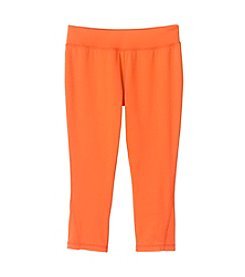 Mambo® Girls' 7-16 Solid Running Crop Pants