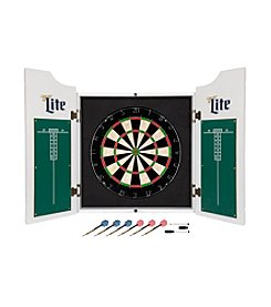 Vintage Miller Lite Dartboard Set with Chalk Board Scoreboads