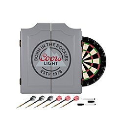 Coors Light Dartboard Set