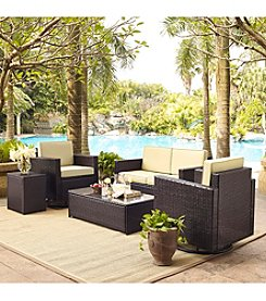 Crosley Furniture Palm Harbor 5-pc. Outdoor Wicker Conversation Set