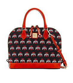 Dooney & Bourke® NCAA® Ohio State Buckeyes Zip Satchel