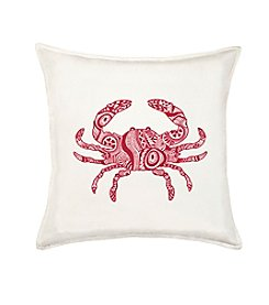 Greendale Home Fashions Crab Decorative Pillow
