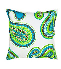 Greendale Home Fashions Paisley Decorative Pillow