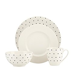 kate spade new york® Larabee Dot  4-pc. Place Setting