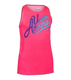 Under Armour® Girls' 7-16 Aloha Wordmark Tank