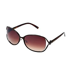 Circus by Sam Edelman™ Metal Vented Lens Glam Sunglasses