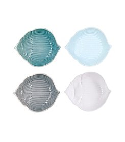 Fitz and Floyd® Cape Coral Set of 4 Assorted Shell Bowls