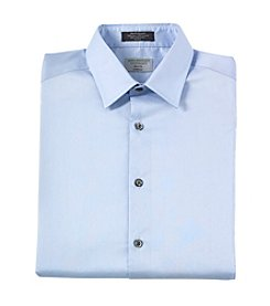 John Bartlett Statements Men's Slim Fit Stretch Solid Dress Shirt