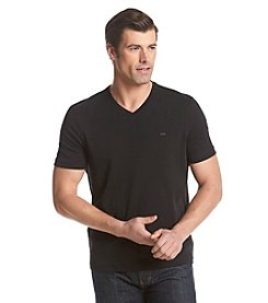 Michael Kors® Men's Liquid Short Sleeve V-Neck Tee