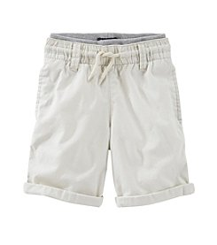 OshKosh B'Gosh® Boys' 2T-7 Solid Cuffed Shorts