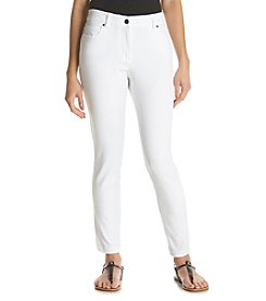 Rafaella® Petites' Ridge Twill Pants