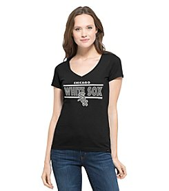 47 Brand® MLB® Chicago White Sox Women's Clutch Short Sleeve Tee