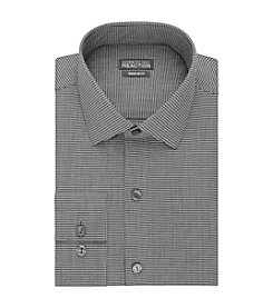 REACTION Kenneth Cole Men's Long Sleeve Slim Fit Button Down Dress Shirt