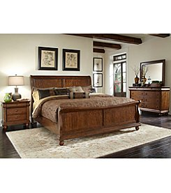 Liberty Furniture Rustic Traditions Cherry Bedroom Collection