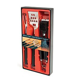 Charcoal Companion® 4-pc. Perfect Chef BBQ Tool Set