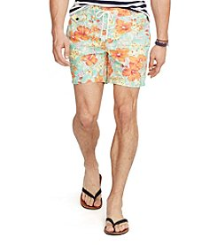 Polo Ralph Lauren® Men's Floral Traveler Swim Shorts