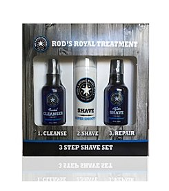 Rod's Royal Treatment 3 Step Shave Kit Gift Set