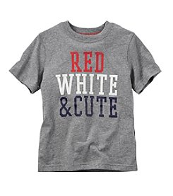 Carter's® Boys' 4-8 Red White & Cute Printed Tee