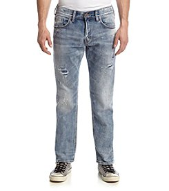 Silver Jeans Co. Men's Eddie Easy Distressed Jeans
