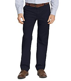 IZOD® Men's Performance Straight-Fit Flat Front Chinos