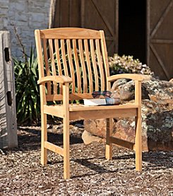 Southern Enterprise Coady Outdoor Teak Arm Chair 2-pc. Set
