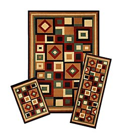 Achim Chelsea Capri 3-pc. Rug Set