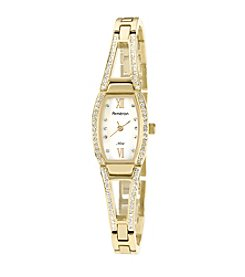 Armitron Women's Swarovski® Crystal Accented Goldtone Bangle Watch
