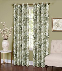 Achim Tranquil Lined Grommet Window Curtain