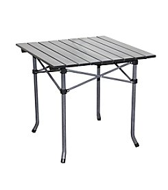 Ore International Aluminum Roll Slate Dove Grey Kid's Table