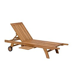 Zuo Modern Starboard Chaise Lounge Natural