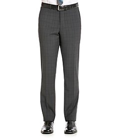 Nick Graham® Men's Black Plaid Suit Separate Pants