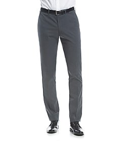 Nick Graham® Men's Gunmetal Solid Suit Separates Pants